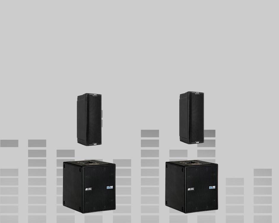 PA Sets aktiv DB Tech/RCF